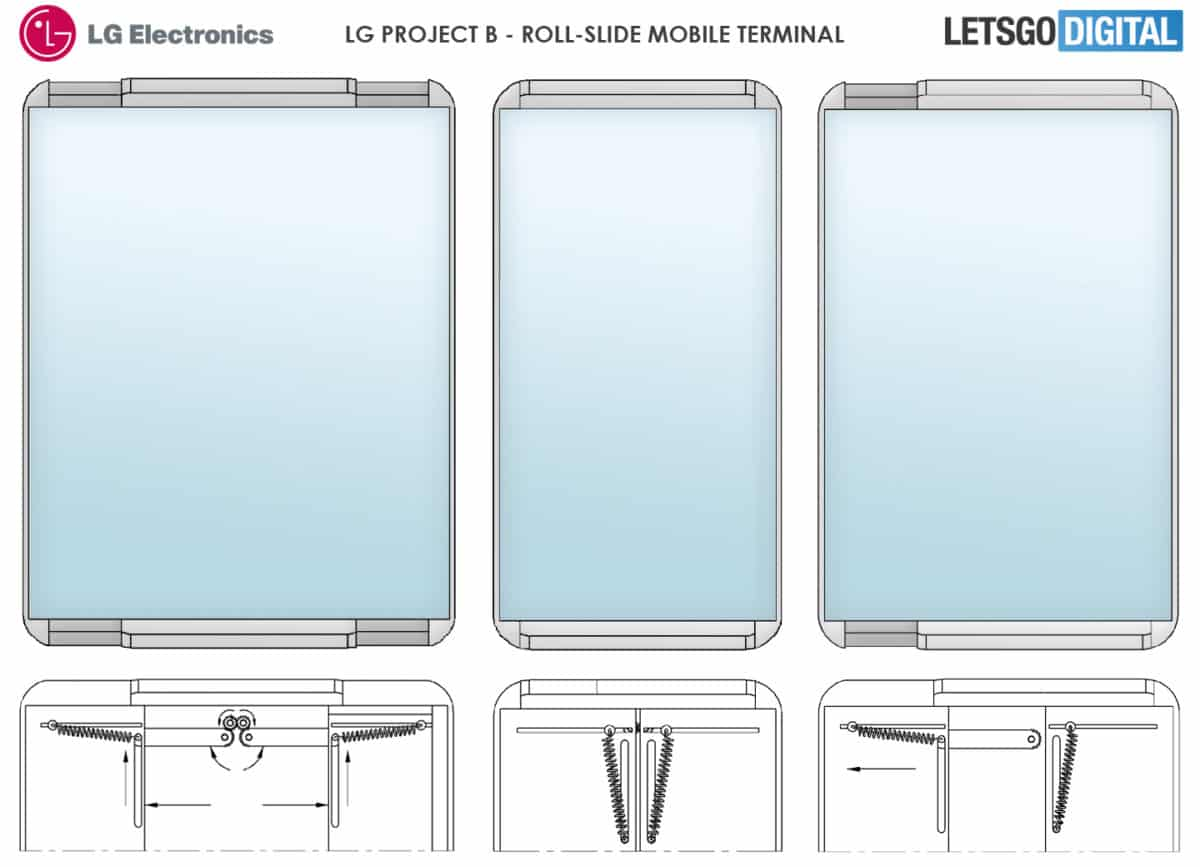 نگاهی به طراحی گوشی رول شونده الجی