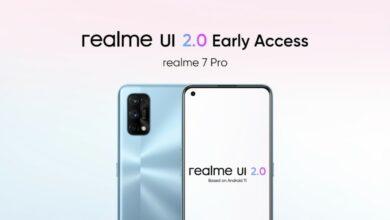 ریلمی 7 پرو رابط کاربری Realme UI 2.0 را بر پایه اندروید 11 تحت برنامه دسترسی سریع دریافت کرد