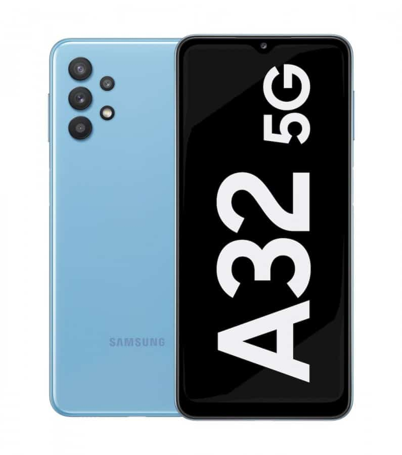 گلکسی A32 5G رونمایی شد: ارزان ترین گوشی 5G سامسونگ